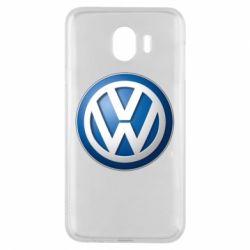 Чохол для Samsung J4 Volkswagen 3D Logo