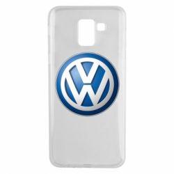 Чохол для Samsung J6 Volkswagen 3D Logo