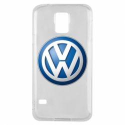 Чохол для Samsung S5 Volkswagen 3D Logo