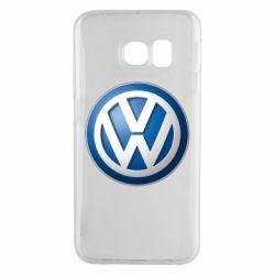 Чохол для Samsung S6 EDGE Volkswagen 3D Logo