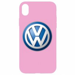 Чехол для iPhone XR Volkswagen 3D Logo