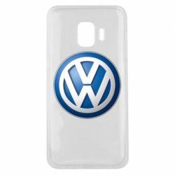 Чохол для Samsung J2 Core Volkswagen 3D Logo