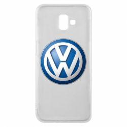 Чохол для Samsung J6 Plus 2018 Volkswagen 3D Logo