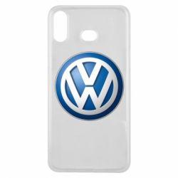 Чохол для Samsung A6s Volkswagen 3D Logo
