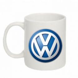 Кружка 320ml Volkswagen 3D Logo