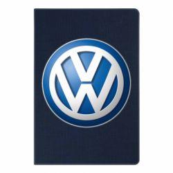 Блокнот А5 Volkswagen 3D Logo