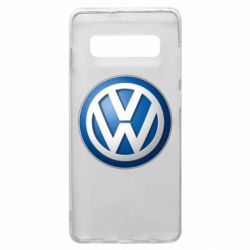 Чохол для Samsung S10+ Volkswagen 3D Logo