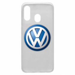 Чохол для Samsung A40 Volkswagen 3D Logo