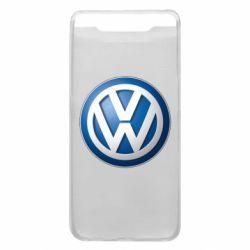 Чохол для Samsung A80 Volkswagen 3D Logo