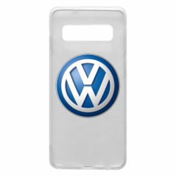 Чохол для Samsung S10 Volkswagen 3D Logo