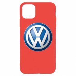 Чохол для iPhone 11 Pro Max Volkswagen 3D Logo