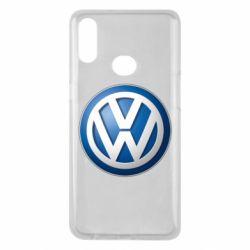 Чохол для Samsung A10s Volkswagen 3D Logo