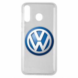 Чохол для Samsung M30 Volkswagen 3D Logo