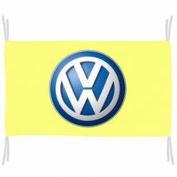 Прапор Volkswagen 3D Logo