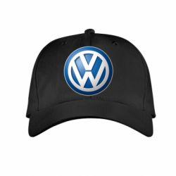 Детская кепка Volkswagen 3D Logo - FatLine