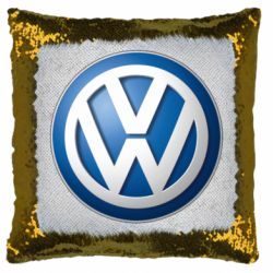 Подушка-хамелеон Volkswagen 3D Logo
