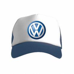 Дитяча кепка-тракер Volkswagen 3D Logo