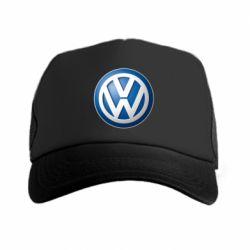 Кепка-тракер Volkswagen 3D Logo - FatLine