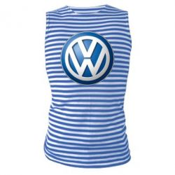 Майка-тільняшка Volkswagen 3D Logo
