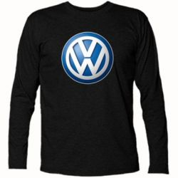 Футболка с длинным рукавом Volkswagen 3D Logo - FatLine
