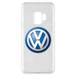 Чохол для Samsung S9 Volkswagen 3D Logo