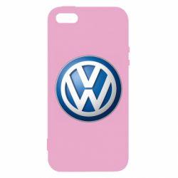 Чохол для iphone 5/5S/SE Volkswagen 3D Logo