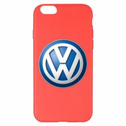 Чехол для iPhone 6 Plus/6S Plus Volkswagen 3D Logo