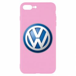 Чехол для iPhone 7 Plus Volkswagen 3D Logo