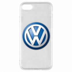 Чехол для iPhone 8 Volkswagen 3D Logo