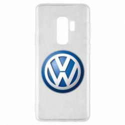Чохол для Samsung S9+ Volkswagen 3D Logo