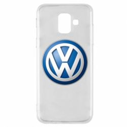 Чохол для Samsung A6 2018 Volkswagen 3D Logo