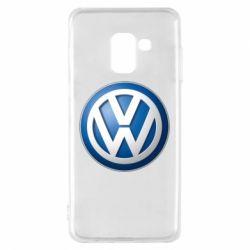 Чохол для Samsung A8 2018 Volkswagen 3D Logo