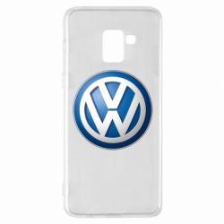 Чохол для Samsung A8+ 2018 Volkswagen 3D Logo