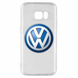 Чохол для Samsung S7 Volkswagen 3D Logo