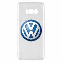 Чохол для Samsung S8 Volkswagen 3D Logo