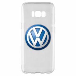 Чохол для Samsung S8+ Volkswagen 3D Logo