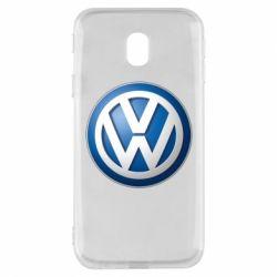 Чохол для Samsung J3 2017 Volkswagen 3D Logo