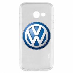 Чохол для Samsung A3 2017 Volkswagen 3D Logo