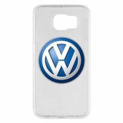 Чохол для Samsung S6 Volkswagen 3D Logo