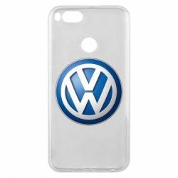 Чохол для Xiaomi Mi A1 Volkswagen 3D Logo