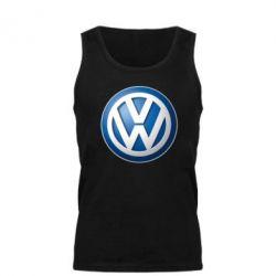 Мужская майка Volkswagen 3D Logo - FatLine