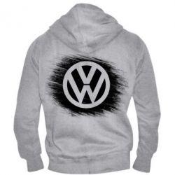 Мужская толстовка на молнии Volkswagen art
