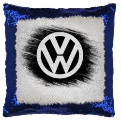 Подушка-хамелеон Volkswagen art