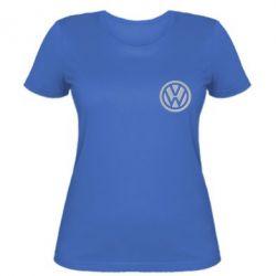 Женская футболка Volkswagen Logo - FatLine