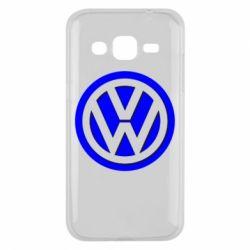 Чохол для Samsung J2 2015 Логотип Volkswagen