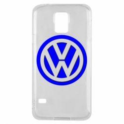 Чохол для Samsung S5 Логотип Volkswagen