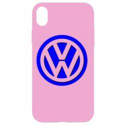 Чохол для iPhone XR Логотип Volkswagen
