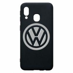 Чохол для Samsung A40 Логотип Volkswagen