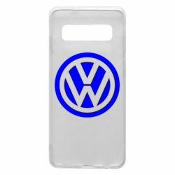 Чохол для Samsung S10 Логотип Volkswagen