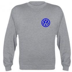 Реглан (свитшот) Volkswagen Logo - FatLine